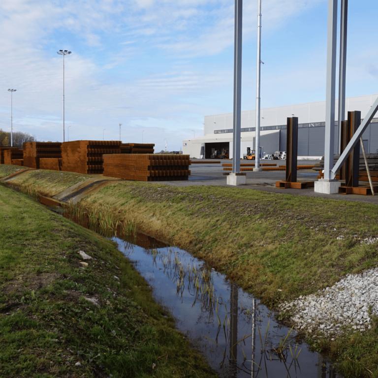 Eesti Traat tootmishoone teedeosa projekt